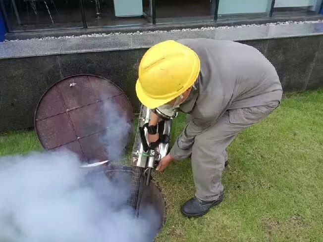 大型工厂烟雾防治